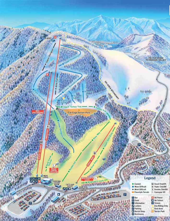 cataloochee ski slopes