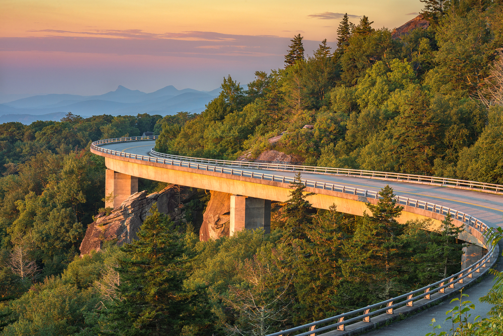 Lynn Cove Viaduct on the Blue Ridge Parkway