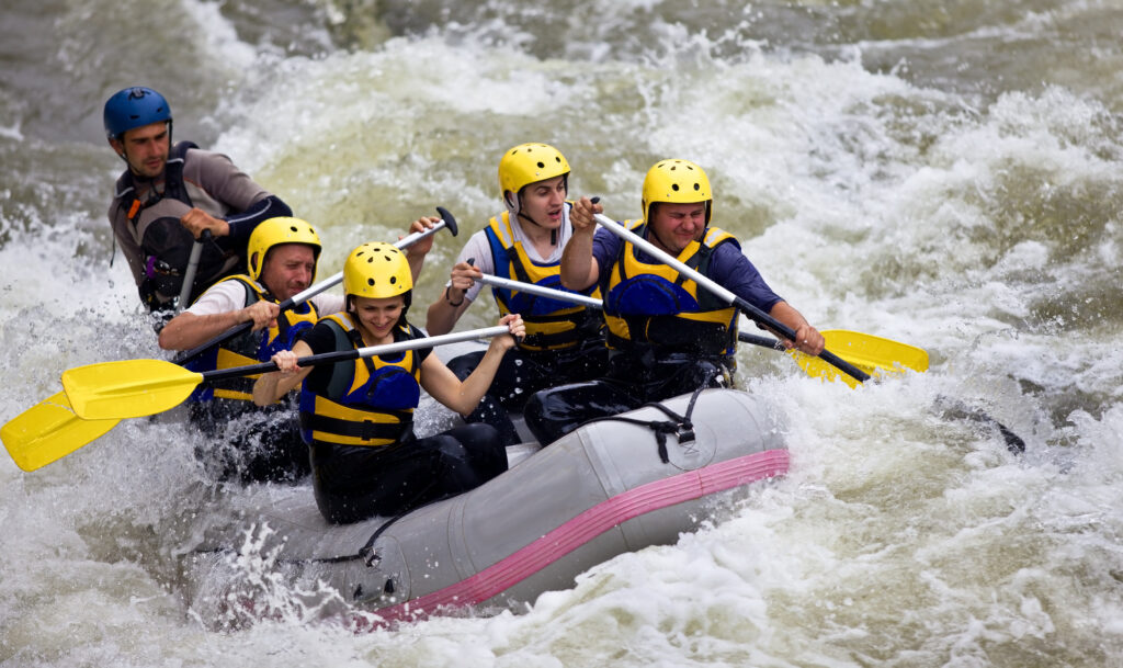 white water rafting near Maggie Valley, North Carolina